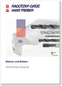 Katalog Bohren und Reiben mit VHM Tieflochbohrern